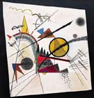 In The Black Square 1923 - Wassily Kandinsky