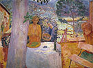 Terrace at Vernonnet 1939 - Pierre Bonnard