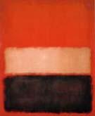 No 56 Red Ochre Black on Red - Mark Rothko