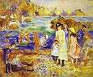 Children on the Beach of Guernesey 1883 - Pierre Auguste Renoir