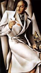 Portrait of Dr Boucard - Tamara de Lempicka