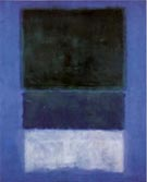 No 14 White and Green in Blue - Mark Rothko