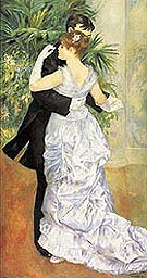 Dance in the City c1882 - Pierre Auguste Renoir