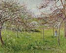 Pommes en Fleurs Eragny 1897 - Camille Pissarro