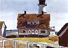 Captain Strout's House 1927 - Edward Hopper