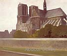 Notre Dame Paris 1907 - Edward Hopper
