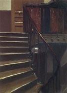 Stairway at 48 rue de Lille Paris 1906 - Edward Hopper