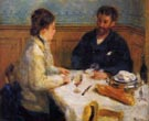The Lunch 1879 - Pierre Auguste Renoir