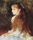 Portrait of Irene Cahend Anvers of Antwerp 1880 - Pierre Auguste Renoir
