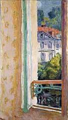 Window Opened at Uriage 1918 - Pierre Bonnard