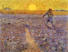 Sower with Setting Sun - Vincent van Gogh