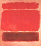 Untitled 1957 Red Painting - Mark Rothko