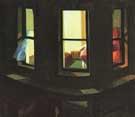 Night Window 1928 - Edward Hopper