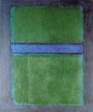 Untitled Green over Blue - Mark Rothko