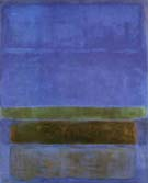 Untitled Blue Green and Brown 1952 - Mark Rothko