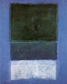 No 14 White and Greens in Blue - Mark Rothko