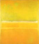 No 14 No 10 Yellow Green - Mark Rothko