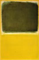 No 16 Green White Yellow Yellow - Mark Rothko