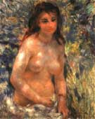 Nude in Sunlight - Pierre Auguste Renoir