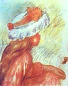 A Girl II - Pierre Auguste Renoir