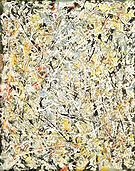 White Light 1954 - Jackson Pollock
