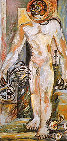 Naked Man 1938 - Jackson Pollock