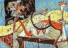 Stenographic Figure 1942 - Jackson Pollock