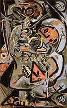 Totem Lesson 1 1944 - Jackson Pollock