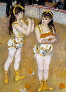Acrobats at the Cirque Fernando 1879 - Pierre Auguste Renoir