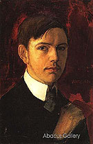 Self Portrait 1906 - August Macke