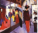 Fashion Shop 1913 - August Macke