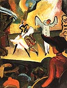 Russian Ballet I 1912 - August Macke