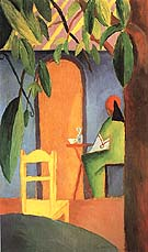 Turkish Cafe II 1914 - August Macke