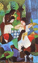 Turkish Jewel Trader 1914 - August Macke