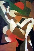 Donna 1923 - Rene Magritte