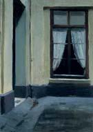 Interior Courtyard at 48 Rue De Lille Paris1906 - Edward Hopper