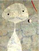 Man with Pipe - Joan Miro