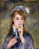 The Ingenue 1876 - Pierre Auguste Renoir