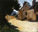 Village Street Louveciennes c1871 - Pierre Auguste Renoir