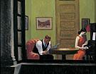 Room in New York 1932 - Edward Hopper