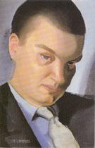 Portrait of  a Man c1933 - Tamara de Lempicka