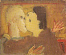 Untitled Couple Kissing 1934 003 - Mark Rothko