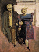 Untitled Standing Man and Woman 1938 015 - Mark Rothko
