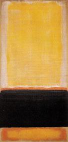 No 4 Yellow Black Orange on Yellow Untitled 1953 - Mark Rothko