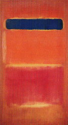 Blue Over Red 1953 - Mark Rothko