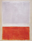 No 8 Lilac and Orange Over Ivory Orange and Lilac Over Ivory 1953 - Mark Rothko