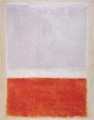 No 8 Lilac and Orange Over Ivory Orange and Lilac Over Ivory 1953 - Mark Rothko