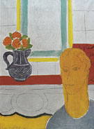 The Ocher Head 1937 - Henri Matisse