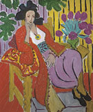 Odalisque with a Red Coat 1937 - Henri Matisse