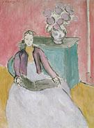 The Mauve Bolero 1939 - Henri Matisse